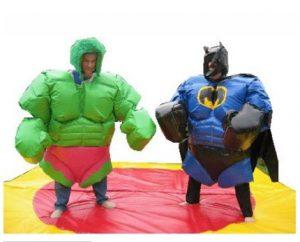Sumo Suits: Hulk Vs. Batman