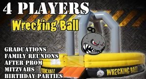 4 Players Wrecking Ball