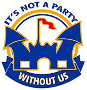 It's Not a Party Without Us! Logo
