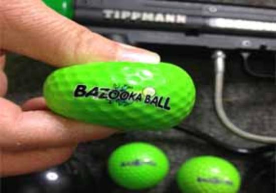 BAZOOKA BALL ARE SQUSHY!